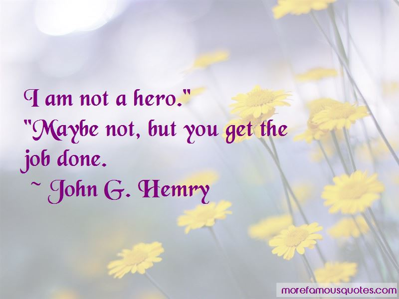John G. Hemry Quotes
