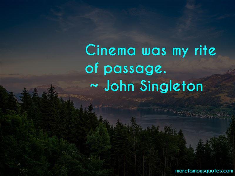 John Singleton Quotes Pictures 2