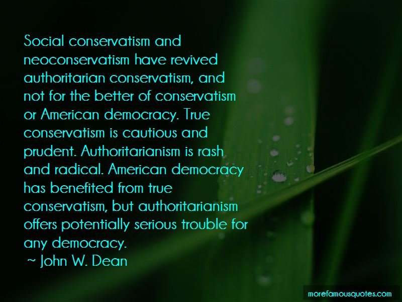 John W. Dean Quotes