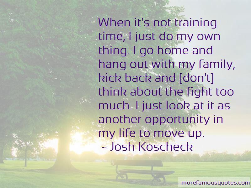 Josh Koscheck Quotes