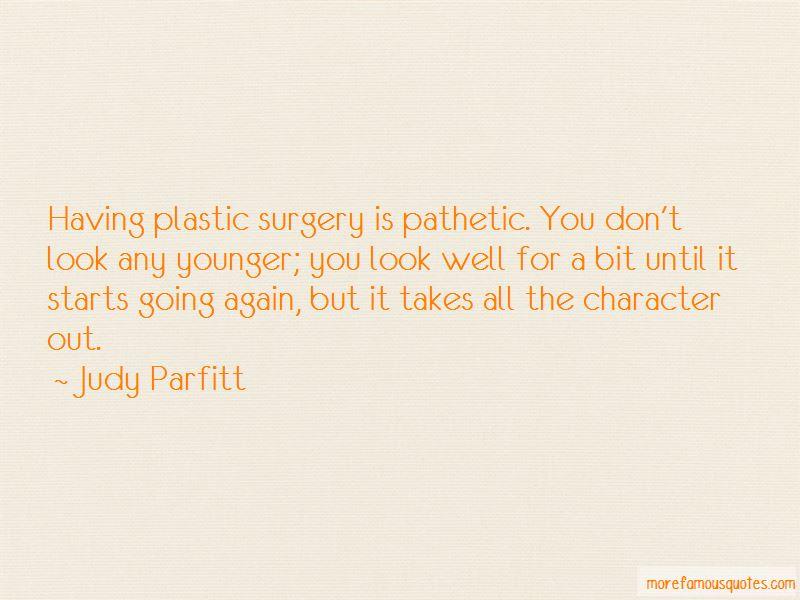 Judy Parfitt Quotes