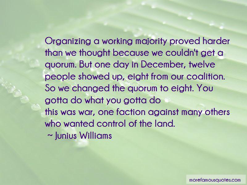 Junius Williams Quotes Pictures 2