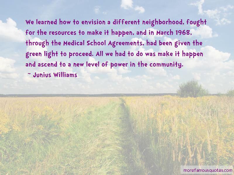Junius Williams Quotes Pictures 3