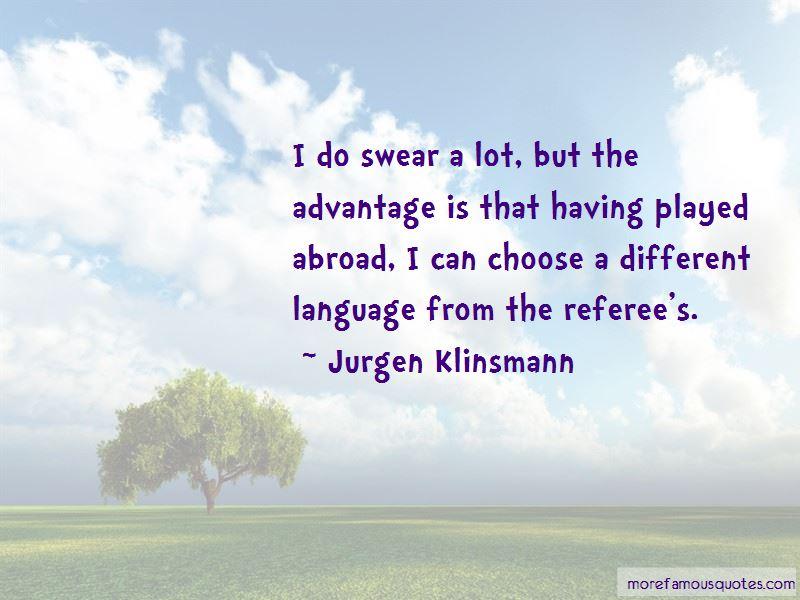 Jurgen Klinsmann Quotes