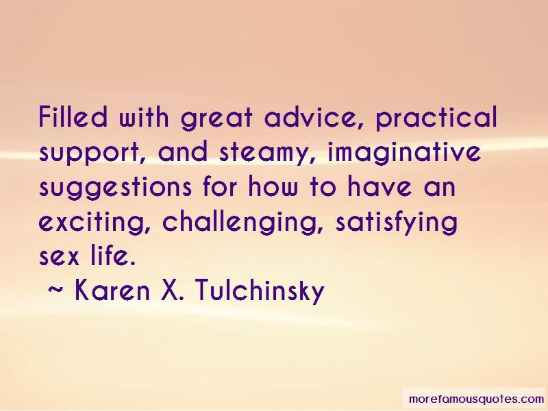 Karen X. Tulchinsky Quotes