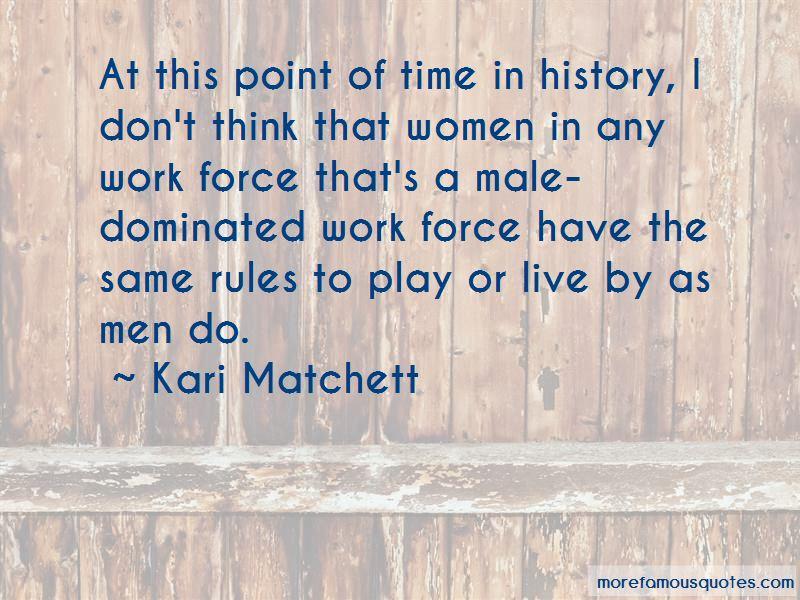 Kari Matchett Quotes