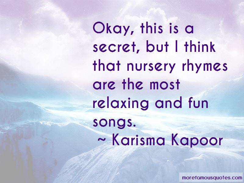 Karisma Kapoor Quotes