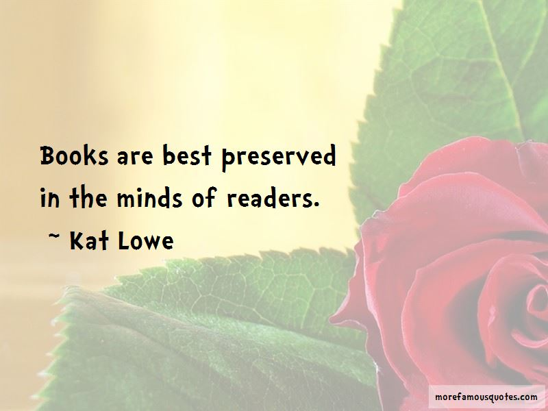Kat Lowe Quotes Pictures 2