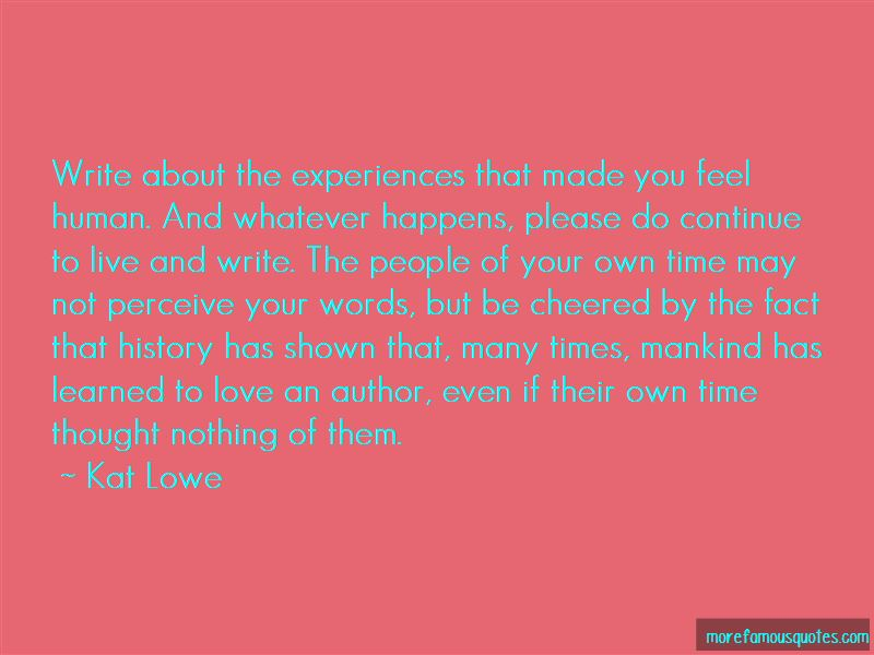 Kat Lowe Quotes Pictures 4
