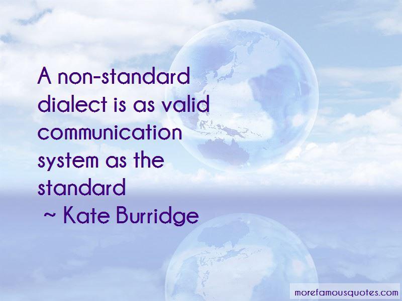 Kate Burridge Quotes