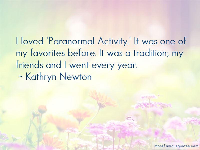 Kathryn Newton Quotes