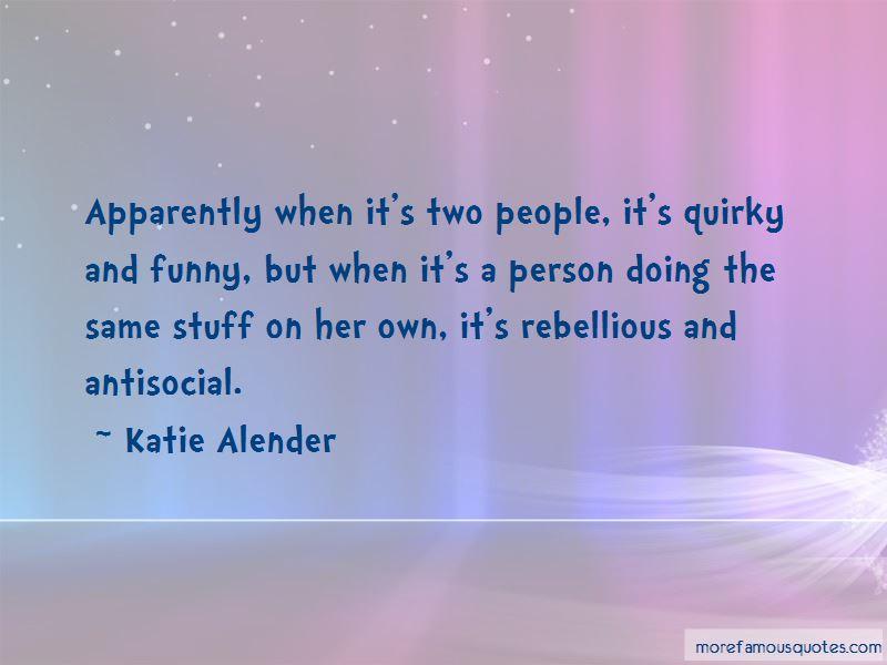 Katie Alender Quotes Pictures 2