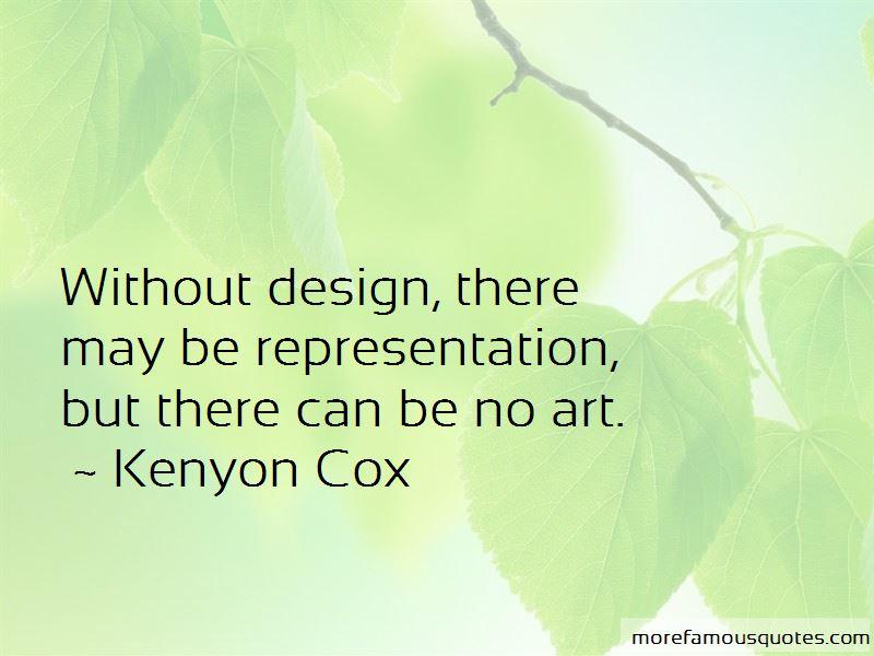 Kenyon Cox Quotes Pictures 2