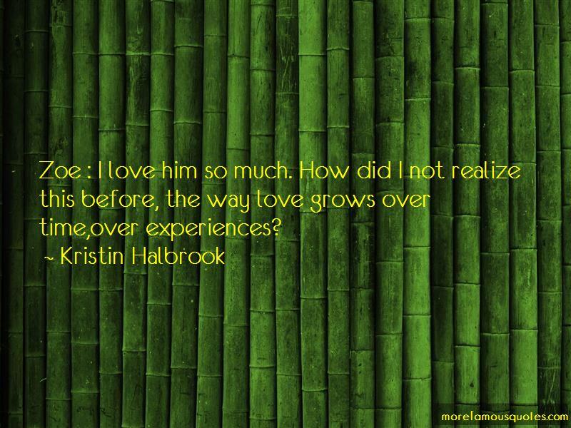 Kristin Halbrook Quotes Pictures 3