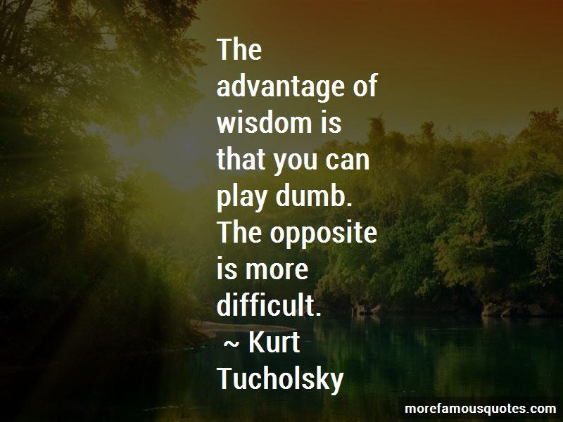 Kurt Tucholsky Quotes Pictures 3