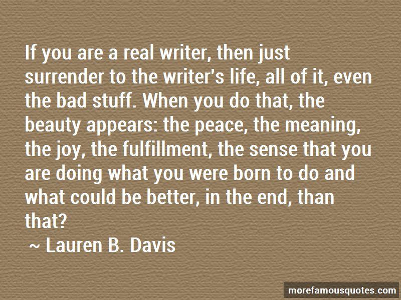 Lauren B. Davis Quotes Pictures 2