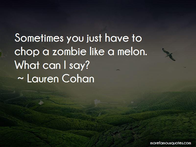 Lauren Cohan Quotes Pictures 2