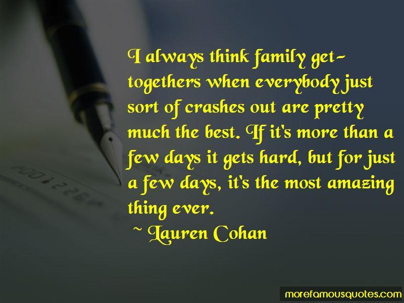 Lauren Cohan Quotes