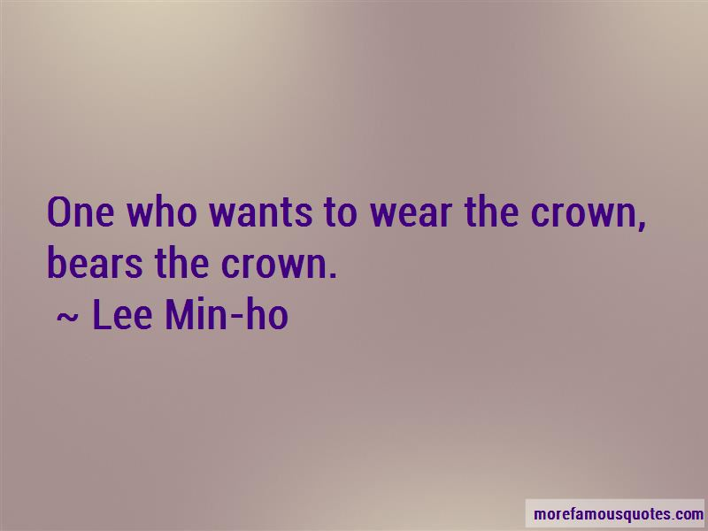 Lee Min-ho Quotes Pictures 4