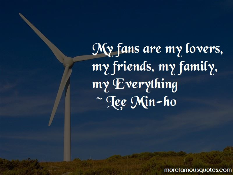 Lee Min-ho Quotes