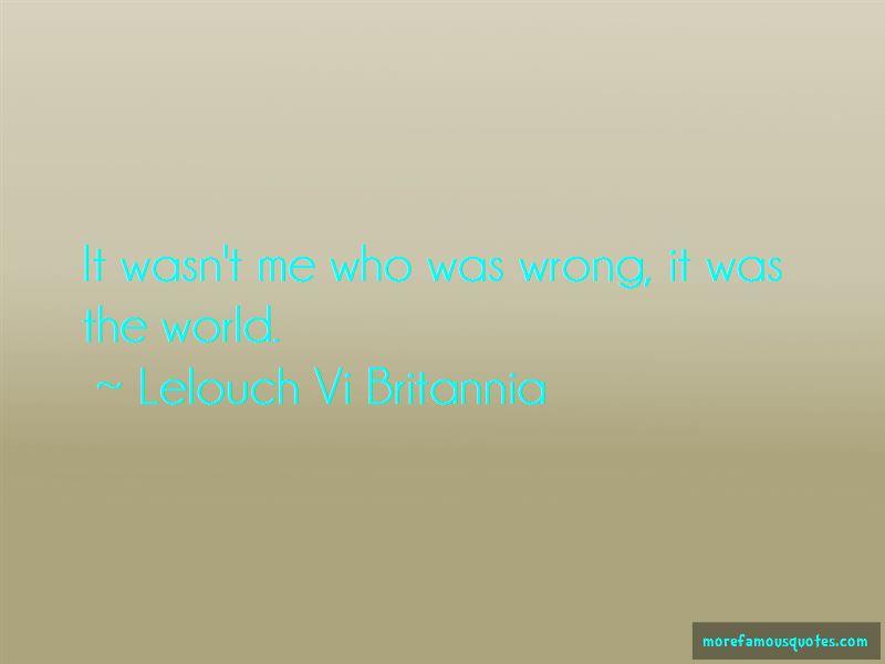 Lelouch Vi Britannia Quotes Pictures 4