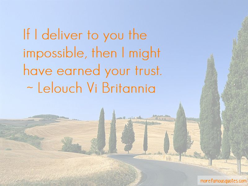 Lelouch Vi Britannia Quotes