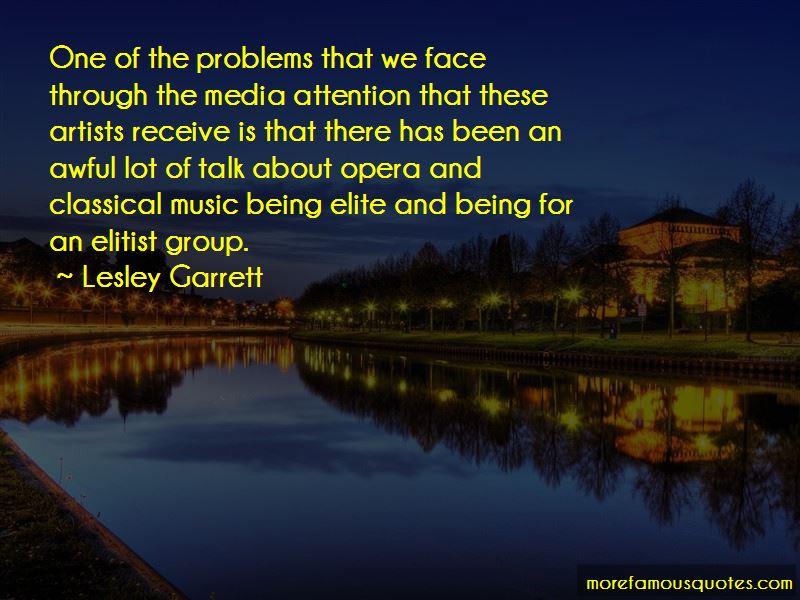 Lesley Garrett Quotes