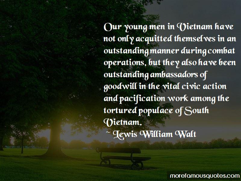 Lewis William Walt Quotes