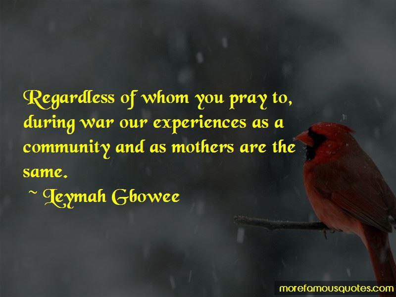 Leymah Gbowee Quotes