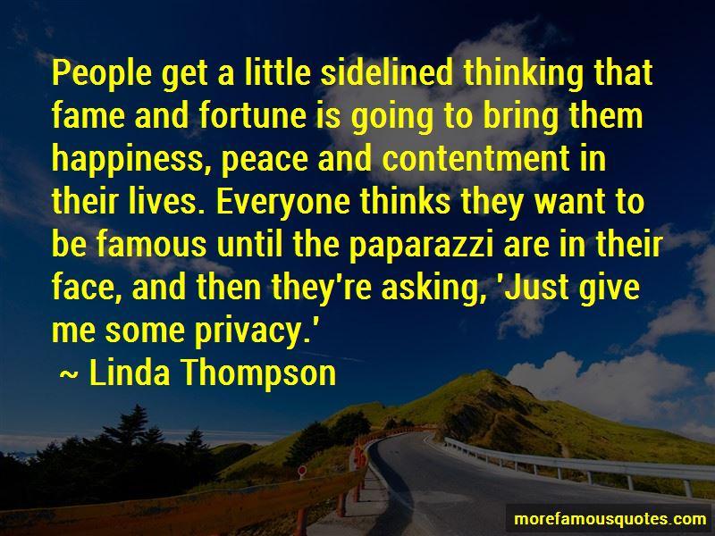 Linda Thompson Quotes Pictures 2