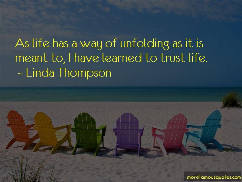 Linda Thompson Quotes