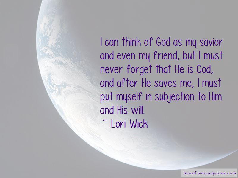 Lori Wick Quotes