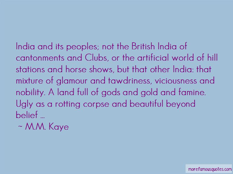 M.M. Kaye Quotes Pictures 4