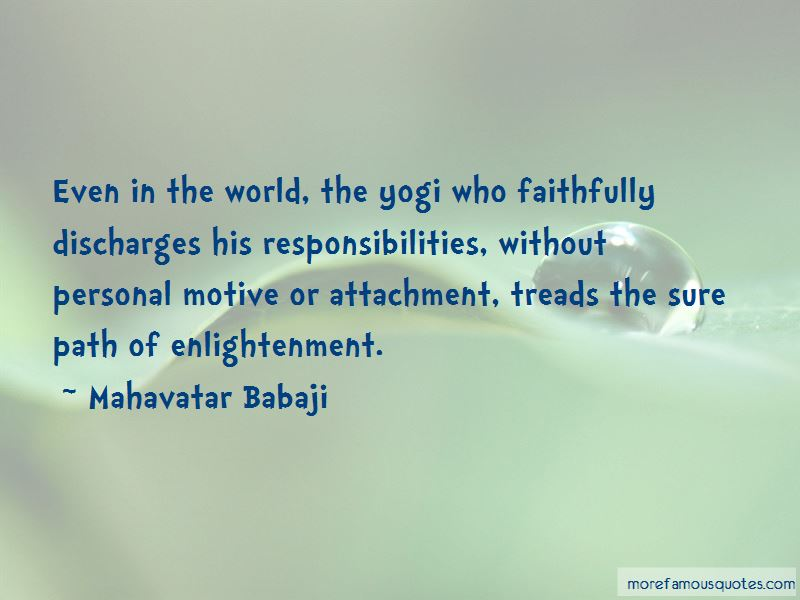 Mahavatar Babaji Quotes