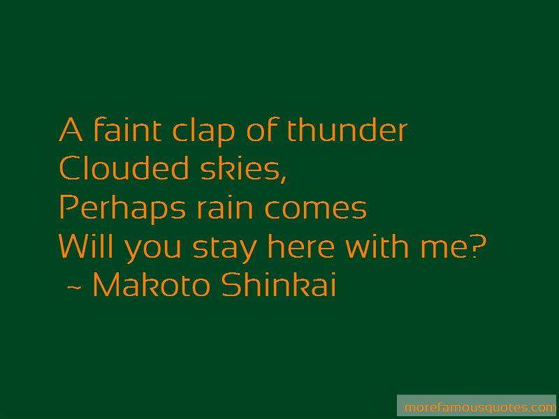 Makoto Shinkai Quotes Pictures 2
