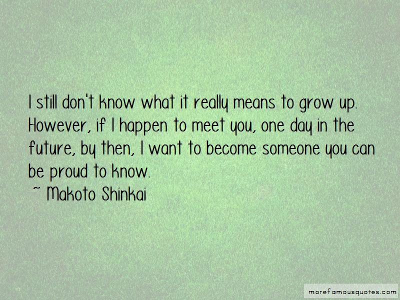 Makoto Shinkai Quotes