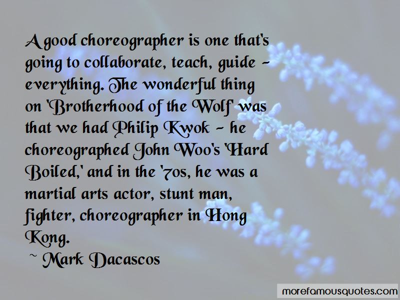 Mark Dacascos Quotes Pictures 4