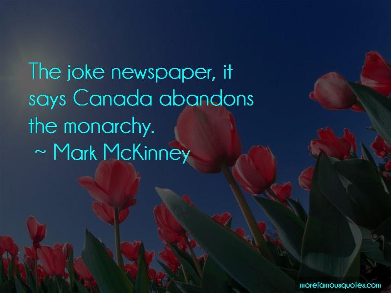Mark McKinney Quotes