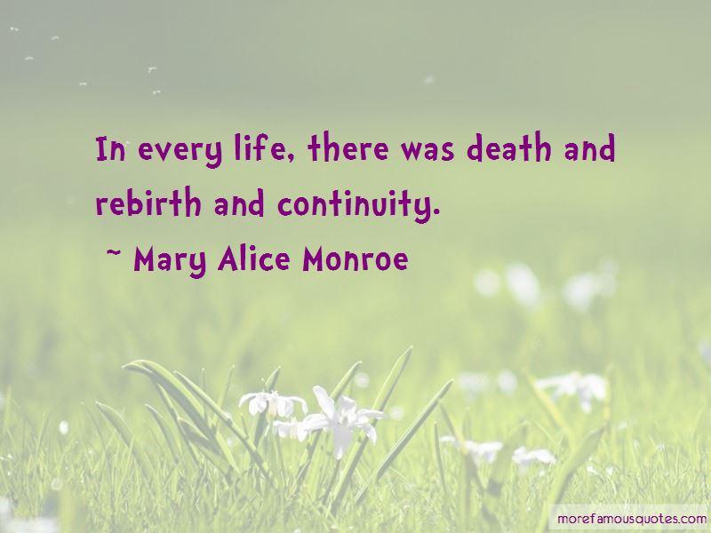 Mary Alice Monroe Quotes
