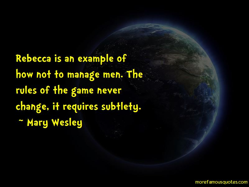 Mary Wesley Quotes Pictures 2