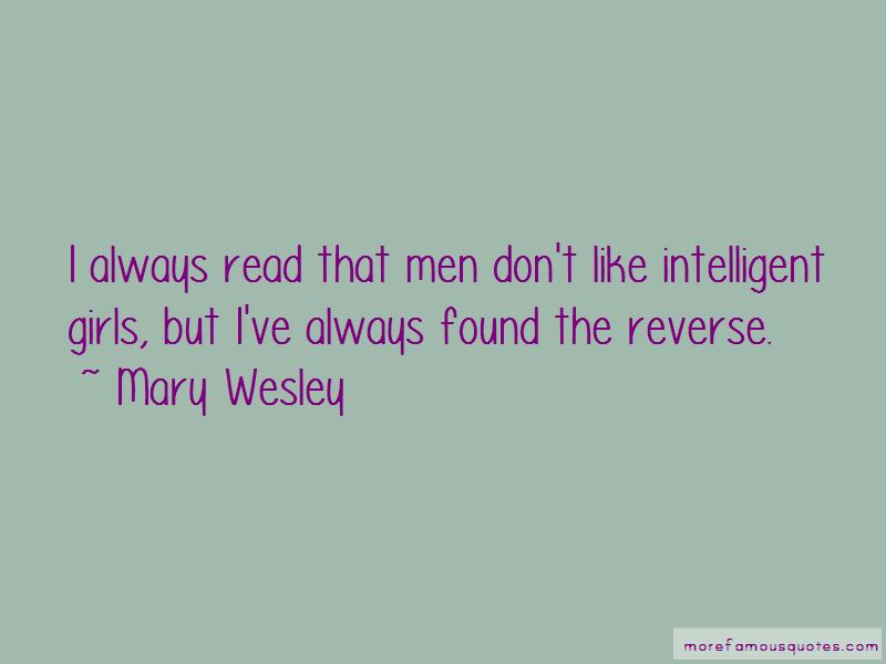 Mary Wesley Quotes