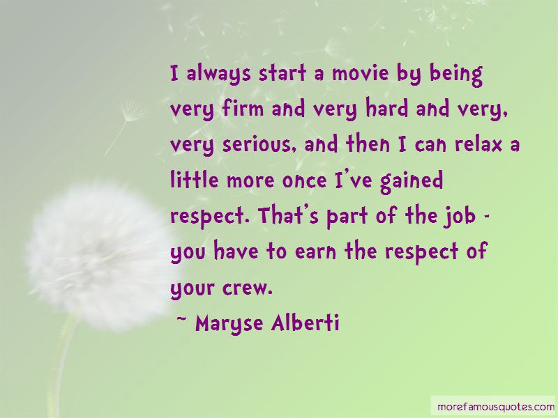Maryse Alberti Quotes