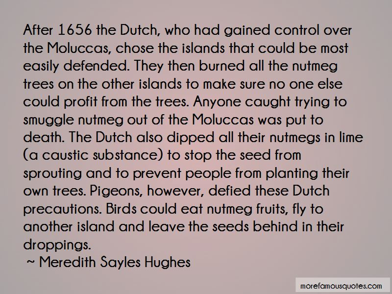 Meredith Sayles Hughes Quotes
