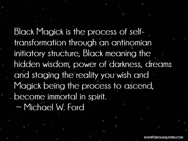 Michael W. Ford Quotes