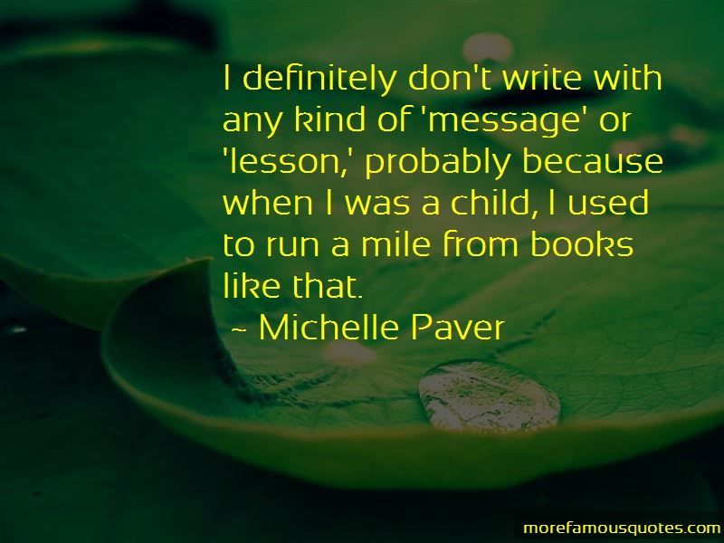 Michelle Paver Quotes Pictures 3