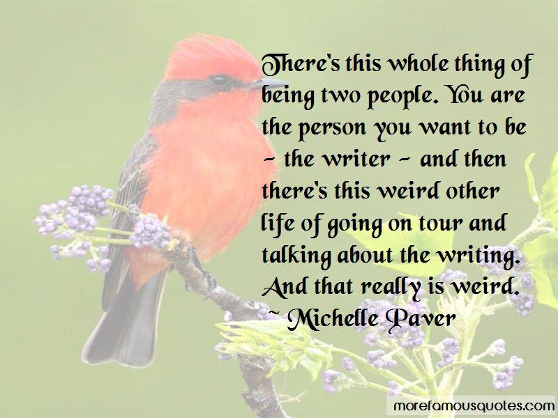 Michelle Paver Quotes