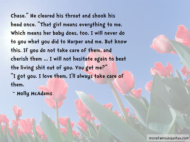 Molly Mcadams Quotes Top 50 Famous Quotes By Molly Mcadams