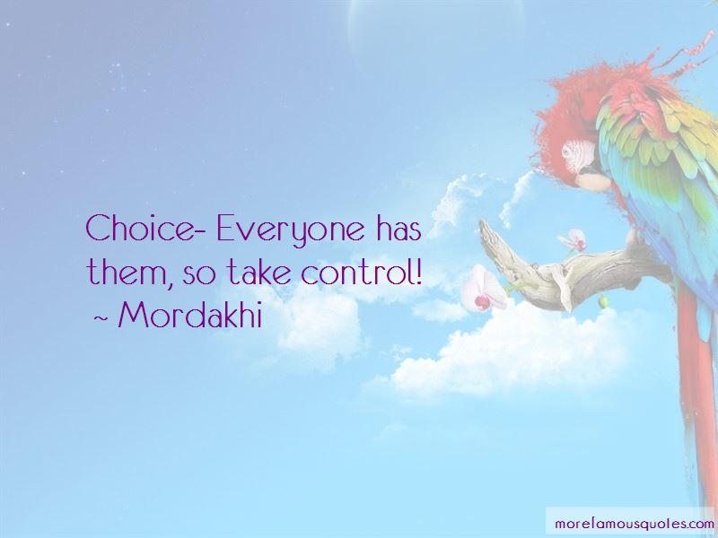 Mordakhi Quotes