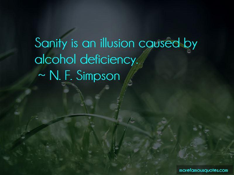 N. F. Simpson Quotes