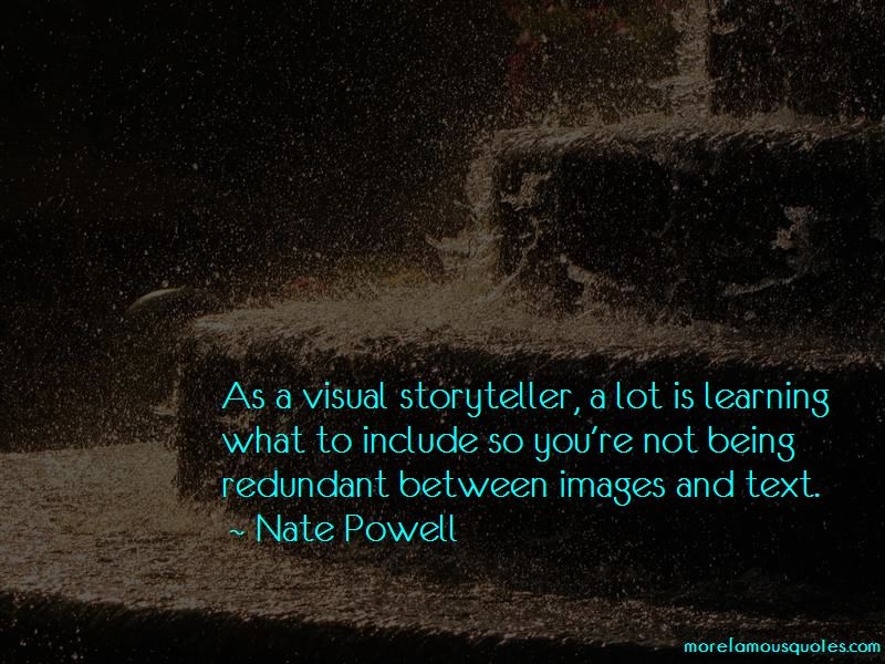 Nate Powell Quotes Pictures 2